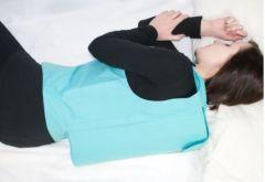 Rückenlageverhinderungsweste ohne Polster